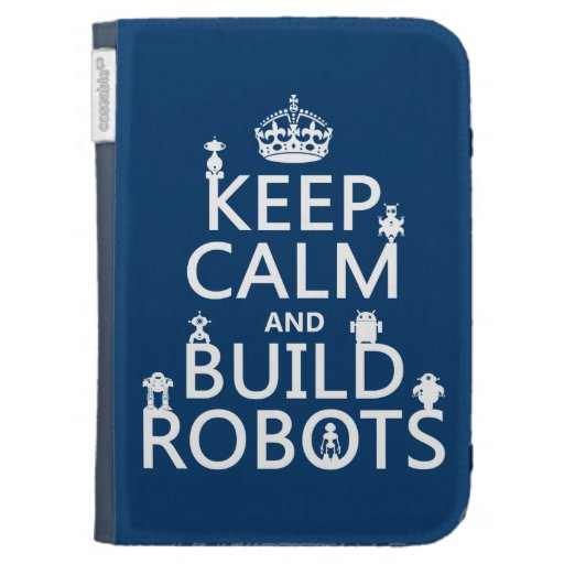 Mantenga los robots tranquilos y de la estructura