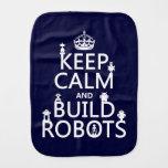 Mantenga los robots tranquilos y de la estructura paños de bebé