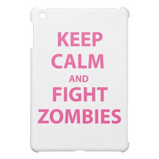 Mantenga los zombis tranquilos y de la lucha