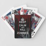 mantenga los zombis tranquilos y de la matanza barajas