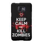 mantenga los zombis tranquilos y de la matanza galaxy s2 cobertura