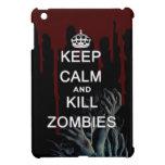 Mantenga los zombis tranquilos y de la matanza iPad mini cobertura