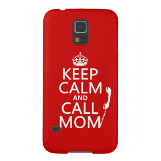 Mantenga mamá tranquila y de la llamada - todos carcasa de galaxy s5