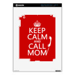 Mantenga mamá tranquila y de la llamada - todos lo iPad 3 skins