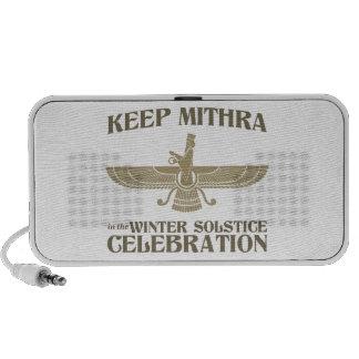Mantenga Mithra la celebración del solsticio de in Altavoces De Viaje