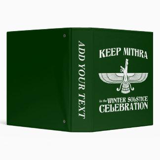 Mantenga Mithra la celebración del solsticio de in
