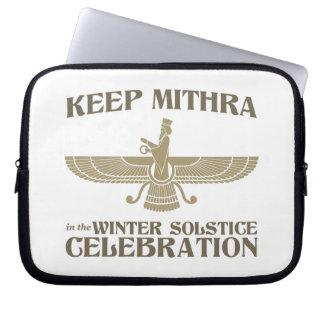 Mantenga Mithra la celebración del solsticio de in Funda Ordendadores