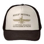 Mantenga Mithra la celebración del solsticio de in Gorra