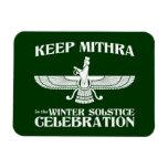 Mantenga Mithra la celebración del solsticio de in Iman Rectangular