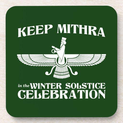 Mantenga Mithra la celebración del solsticio de in Posavasos