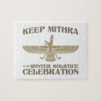 Mantenga Mithra la celebración del solsticio de in Puzzles