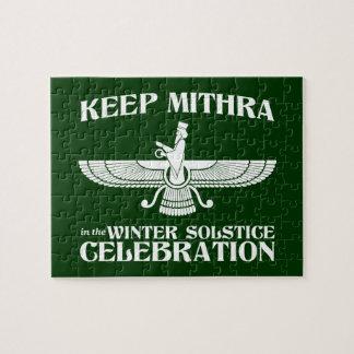 Mantenga Mithra la celebración del solsticio de in Rompecabezas