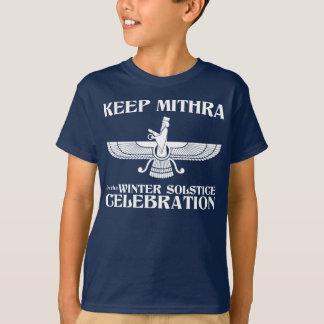 Mantenga Mithra la celebración del solsticio de Playera