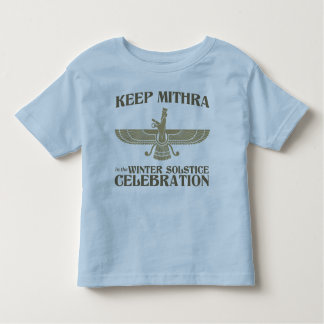 Mantenga Mithra la celebración del solsticio de Playera De Niño