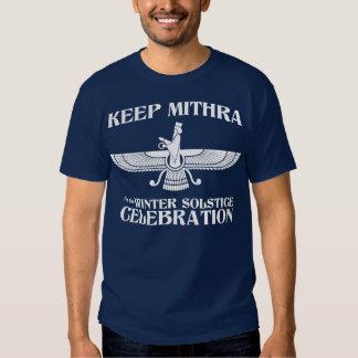 Mantenga Mithra la celebración del solsticio de Remera