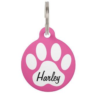 Mantenga nombre tranquilo y de la llamada de la placas para mascotas