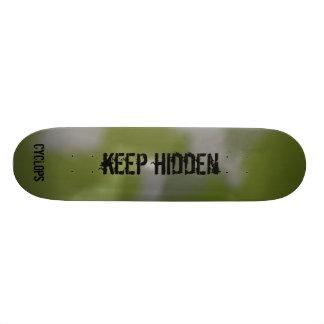 mantenga ocultado patinetas personalizadas