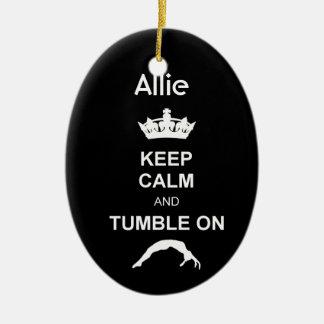 Mantenga ornamento tranquilo y de la caída del ornaments para arbol de navidad