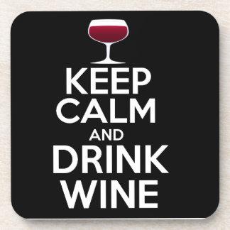 Mantenga práctico de costa tranquilo y de la posavasos de bebidas