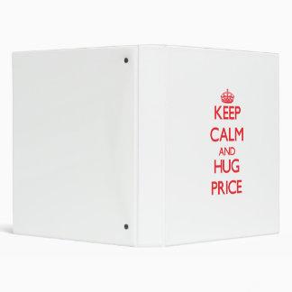 Mantenga precio tranquilo y del abrazo