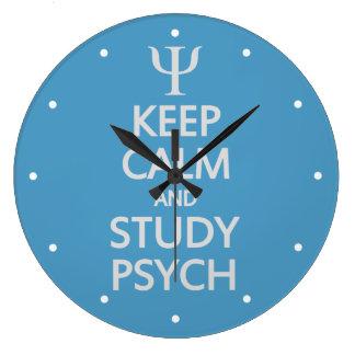 Mantenga reloj de encargo tranquilo y del estudio