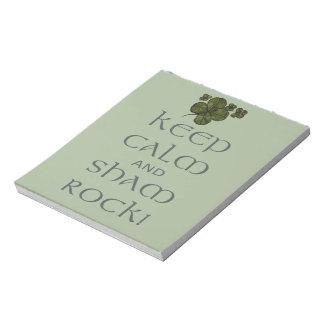 ¡Mantenga roca tranquila y del impostor! Blocs