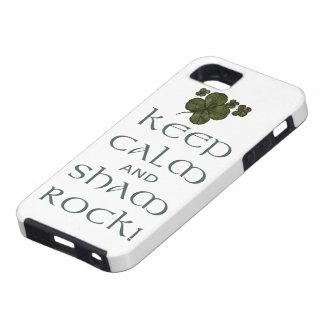 ¡Mantenga roca tranquila y del impostor! iPhone 5 Case-Mate Funda