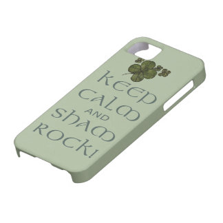 ¡Mantenga roca tranquila y del impostor! Funda Para iPhone SE/5/5s