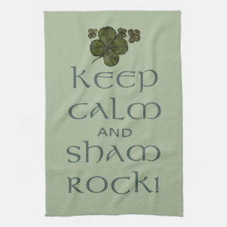 ¡Mantenga roca tranquila y del impostor! Toalla