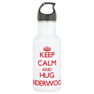 Mantenga sotobosque tranquilo y del abrazo