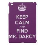 Mantenga Sr. tranquilo y del hallazgo Darcy Jane A iPad Mini Coberturas
