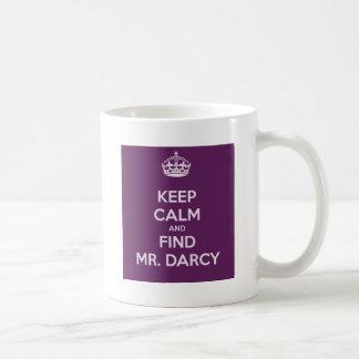 Mantenga Sr. tranquilo y del hallazgo Darcy Jane A Tazas De Café