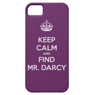 Mantenga Sr. tranquilo y del hallazgo Darcy Jane iPhone 5 Funda