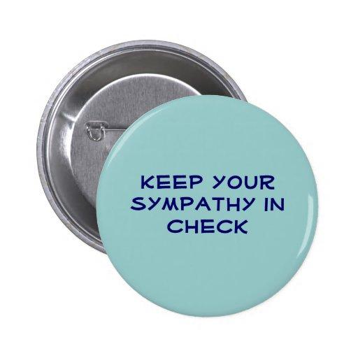 Mantenga su condolencia control pins
