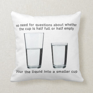 Mantenga su taza llena - amortiguador almohada