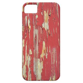 Mantenga sus ojos pelados, pelando la pintura rojo iPhone 5 cárcasa