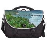 Mantenga sus sueños vivos con paisaje arrebatador bolsas para ordenador