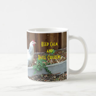 Mantenga taza tranquila y del aumento de los