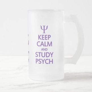 Mantenga taza tranquila y del estudio de Psych - p