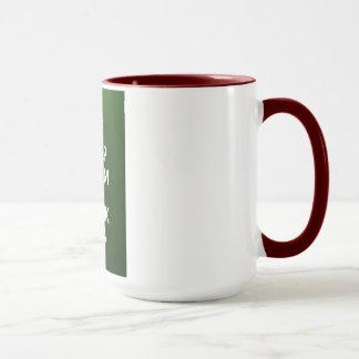 Mantenga té tranquilo y de la bebida taza