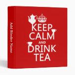Mantenga té tranquilo y de la bebida - todos los c