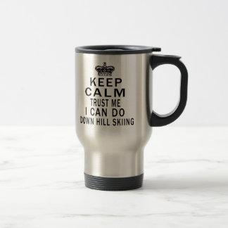 Mantenga tranquilo para confiarme en que puedo hac taza de café