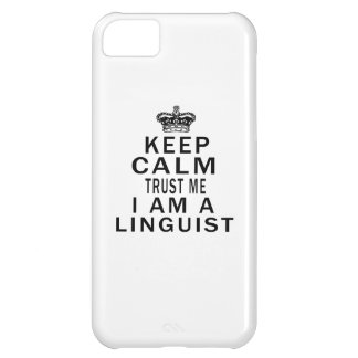 Mantenga tranquilo para confiarme en que soy lingü