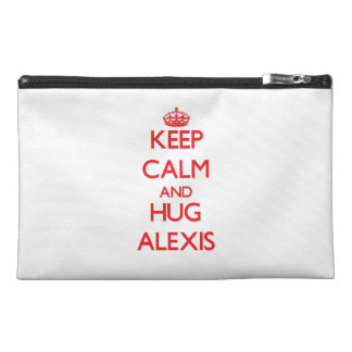 Mantenga tranquilo y abrazo Alexis