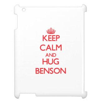 Mantenga tranquilo y abrazo Benson