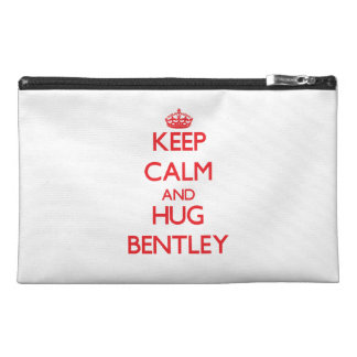 Mantenga tranquilo y abrazo Bentley
