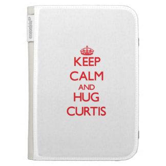 Mantenga tranquilo y abrazo Curtis