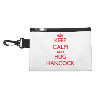 Mantenga tranquilo y abrazo Hancock