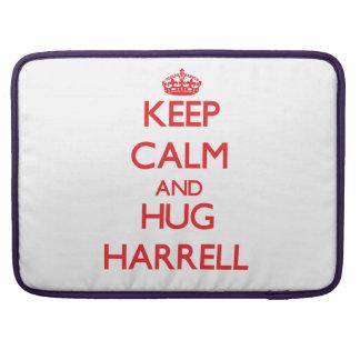 Mantenga tranquilo y abrazo Harrell Funda Macbook Pro