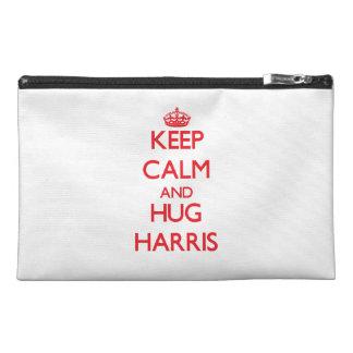 Mantenga tranquilo y ABRAZO Harris